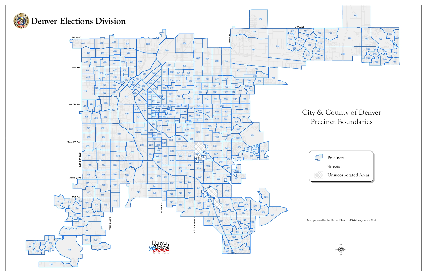 Denver Precinct Maps   Democratic Party of Denver