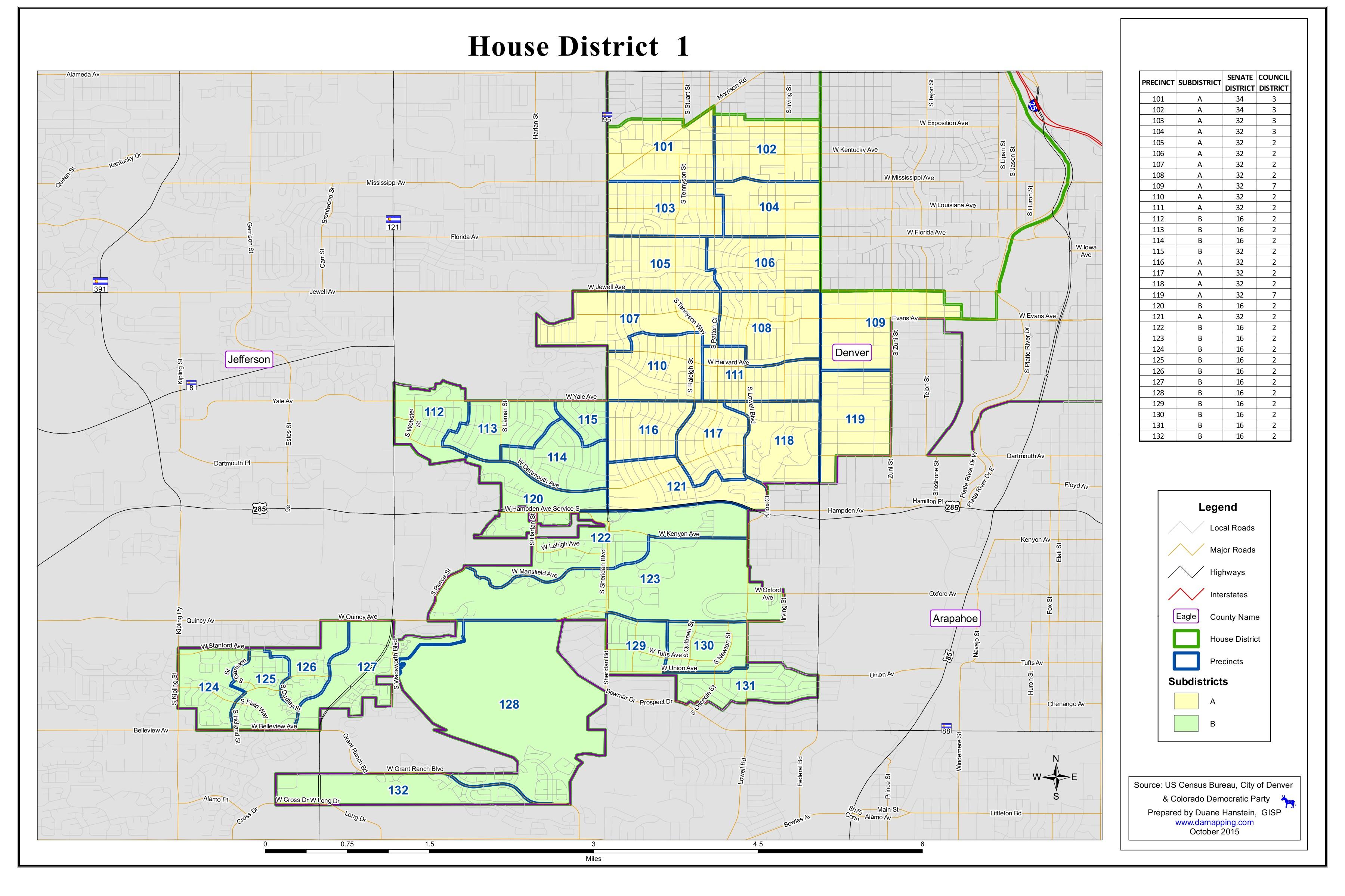 Maps | Democratic Party of Denver